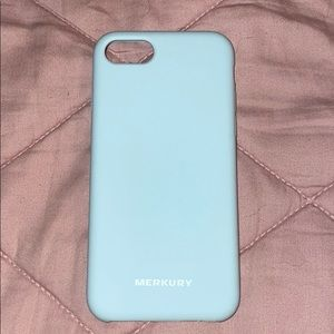 Accessories - Tiffany Blue Soft Touch IPhone 8 Case